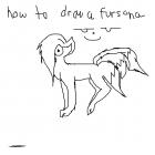 HOW TO DRAW A FURSONA