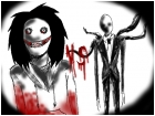 Jeff the killer vs Slender man
