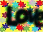 peace love flowers