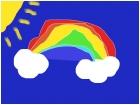 Awkward rainbow
