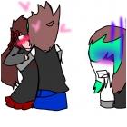 Fine I KISS HER
