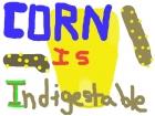 Corn don't digest