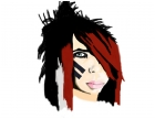 An old picture of Dahvie Vanity