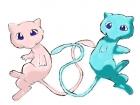 Mew and Shiny Mew