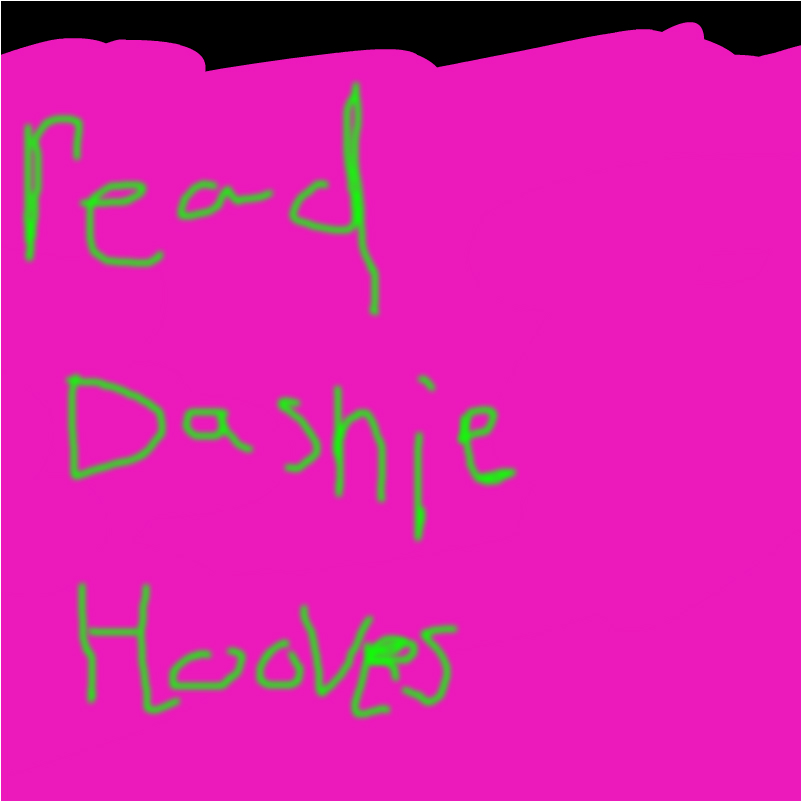 DASHIE HOOVES READ