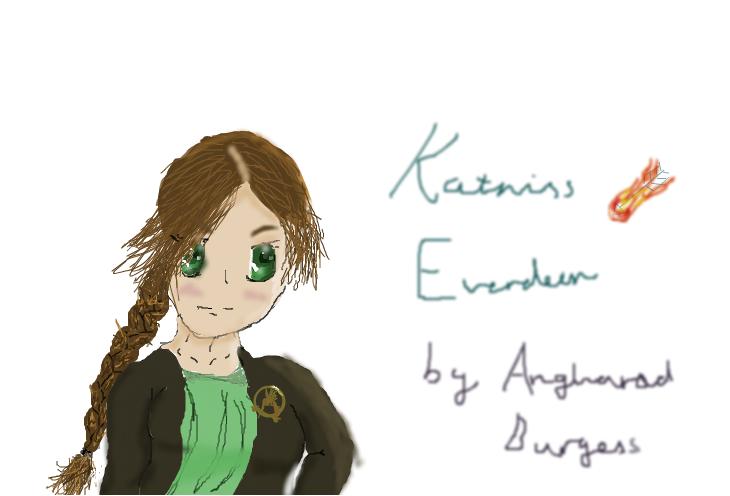 Katniss Everdeen Manga (Hunger Games)