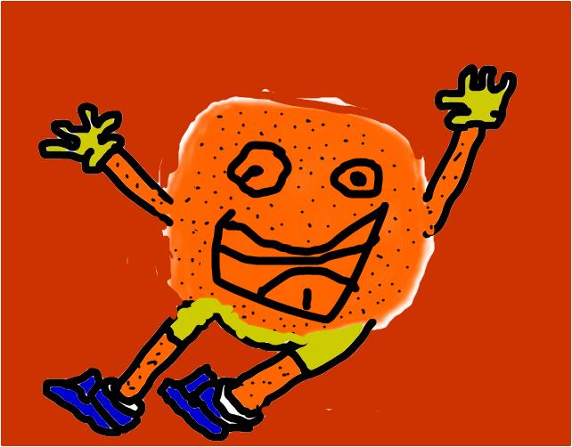eat oranges