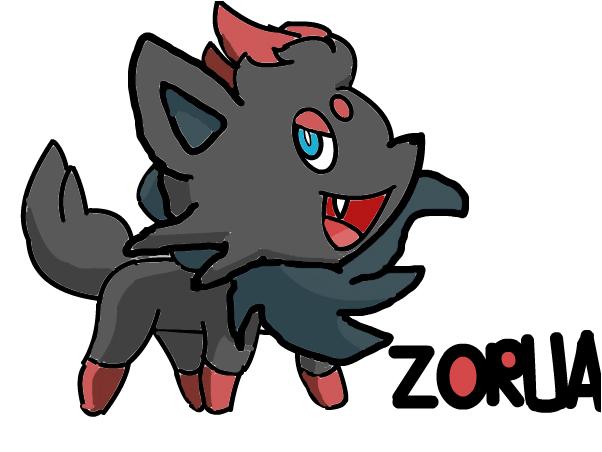 Pokemon Zorua