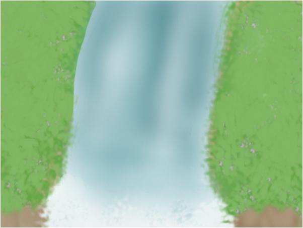 Waterfall x)