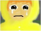 The sad boy