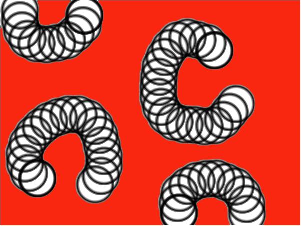 Slinkys in space
