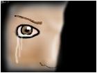 sad and angry eye :3