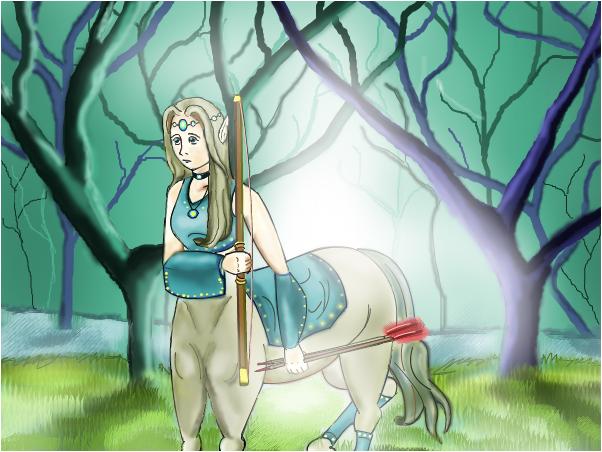 Centaur in the Forest