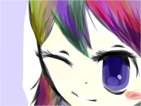 Rainbow GuRl~Ham
