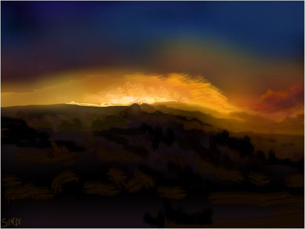 Famous Artist Sunrise