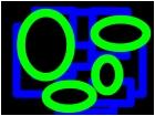 Squares & Circle