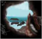 beach cave fantasy
