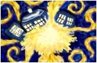 TARDIS Exploding *van gogh*