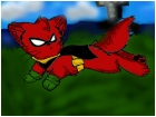 Robbin from Teen titans as a cat.