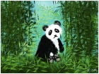 Sad Momma Panda