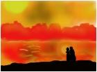 Aboriginal Sunset