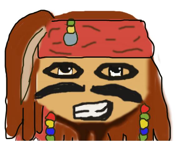 Chibi Captain Jack Sparrow