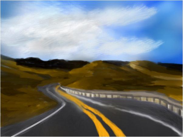 The Desert Road