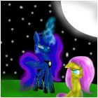 luna and fluttershy