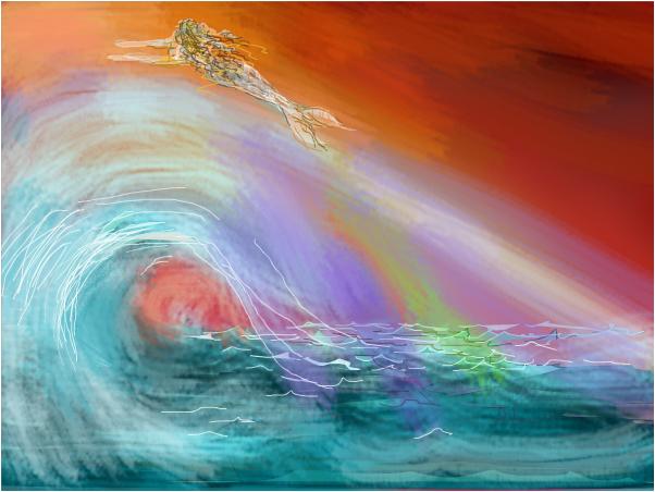 Riding the Rainbow Wave