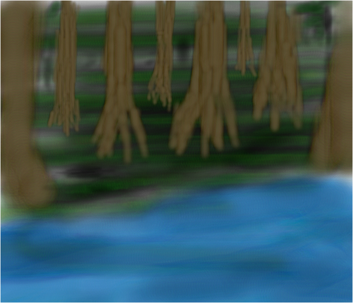 River Among the Trees