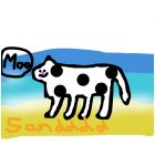 Mr. Cow- be happy, life is pootiful