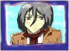 Mikasa Akerman!!!