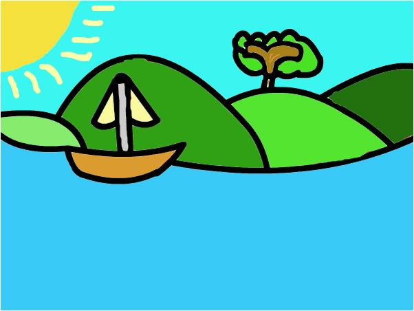 Horisen Beach Boat