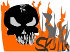 Black Skulls made up cd cover