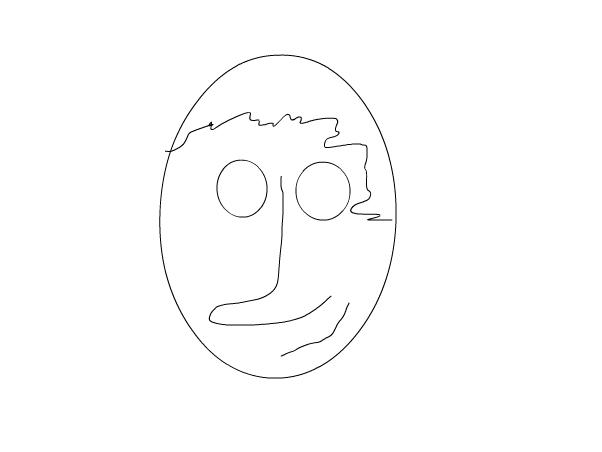 wierd face