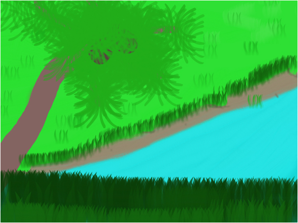 Pond Below