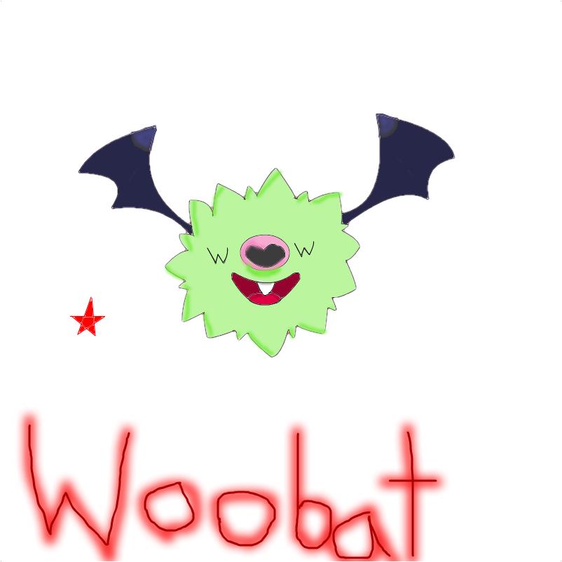 Shiny Woobat I TAKE REQUEST