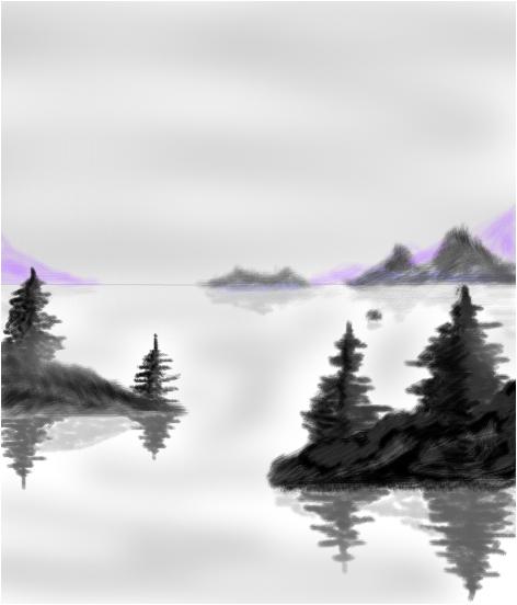 Grey islands!