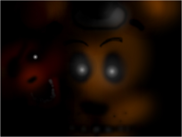 foxi and freddy in the shadow