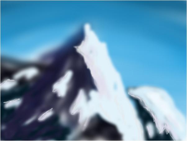 Daytime Snowy Mountains