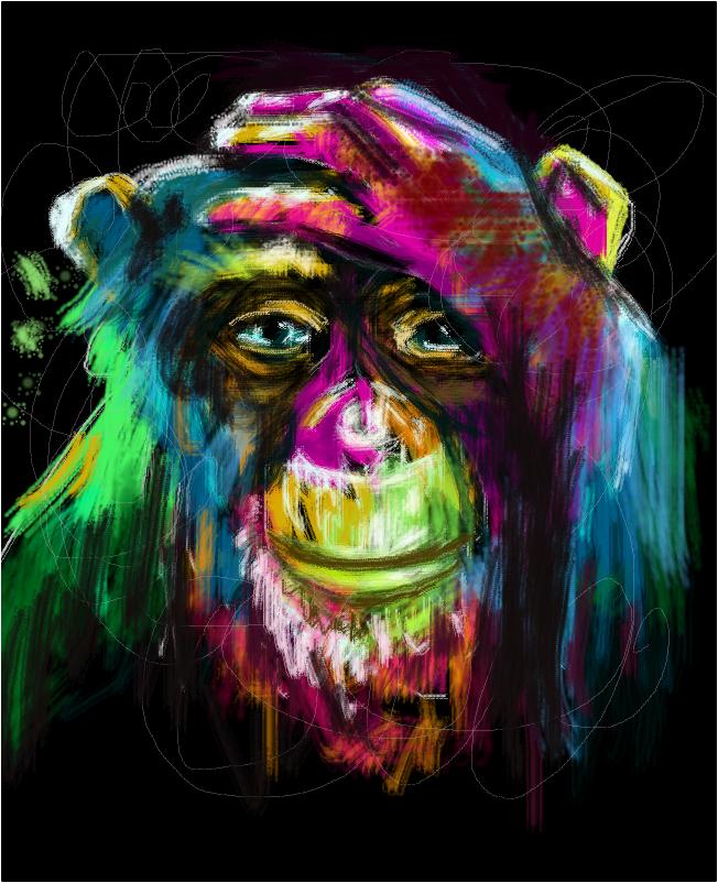 Ashamed Monkey