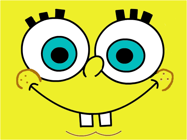 Spongebob (with no holes)