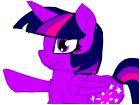 my littlt pony twilight Sparkle is xD