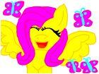 pony fluttershy is del hello animals