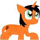 Dee Dee as a Pony (Alicorn)