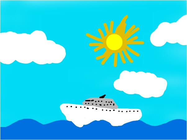 море и корабль