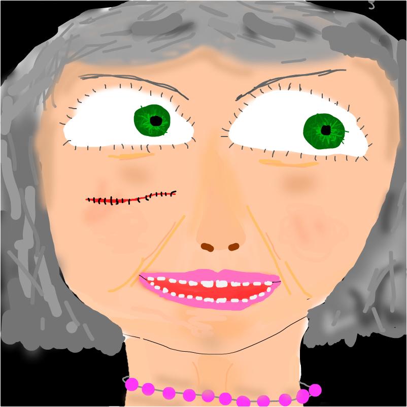 Злая  Бабушка,      пиратка