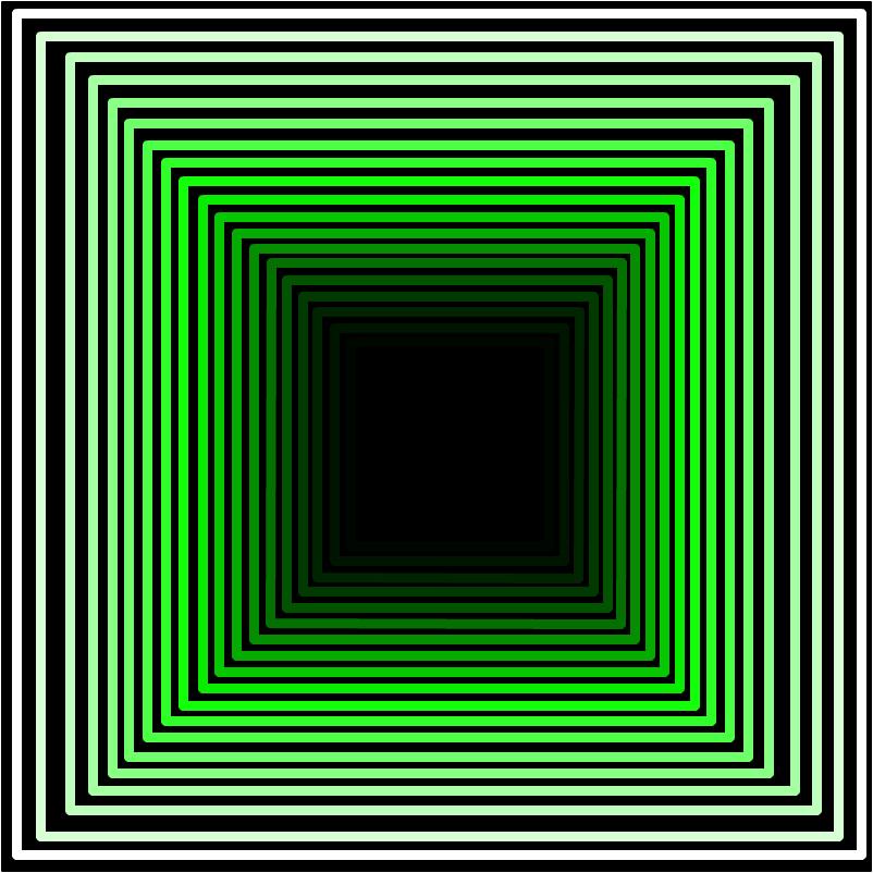 Зелёный коридор.
