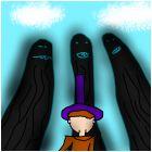 Чёрные  призраки