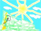 Солнышка и непанятная лесница